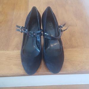 Loft suede heels